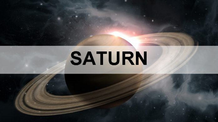 Saturn, Nine Planets in Universe