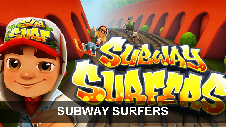 SUBWAY SURFERS, Best offline Android games that require no WiFi! best offline android games Best offline Android games that require no WiFi! SUBWAY SURFERS