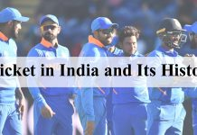 Cricket in India and Its History